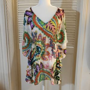 Echo sheet swimsuit cover up sz S